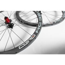 Cero RC38-T Disc Carbon Tubular wheelset