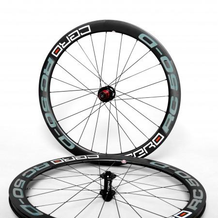 Cero RC50 Disc Carbon Clincher wheelset